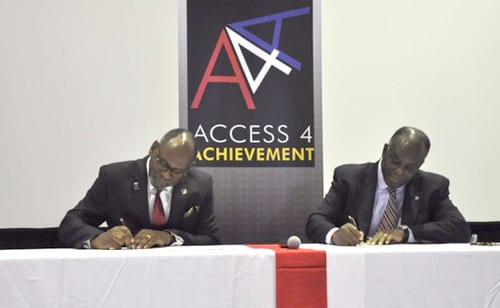 signing
