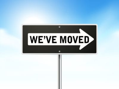 moved sign