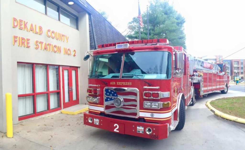 dekalb fire truck