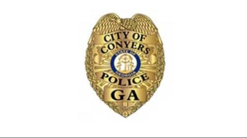 city of conyers police badge