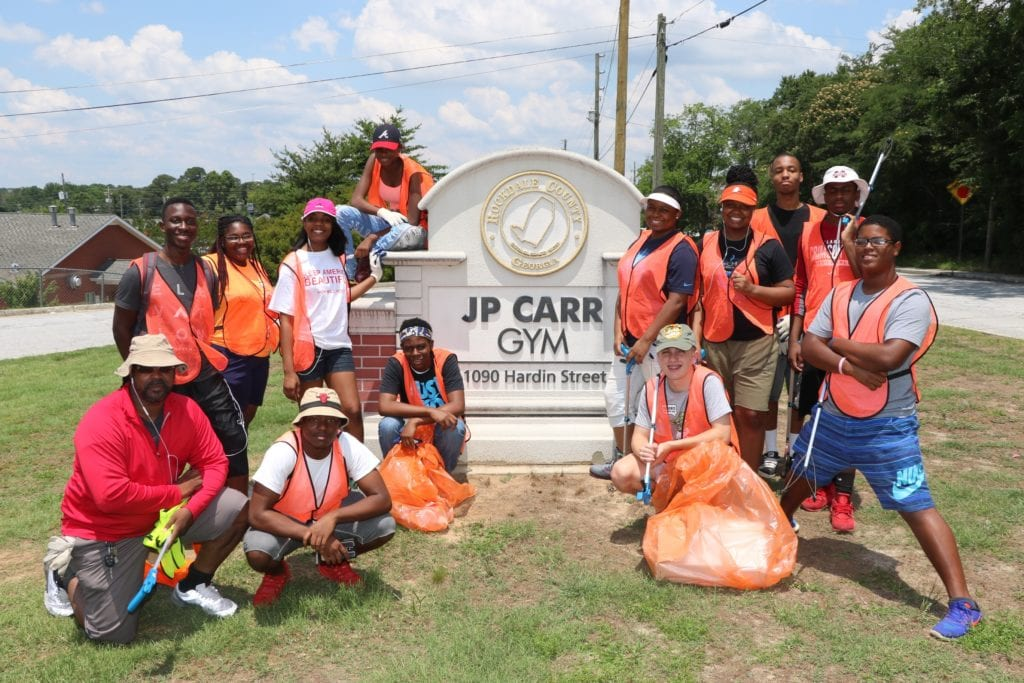 youth cleanup crew
