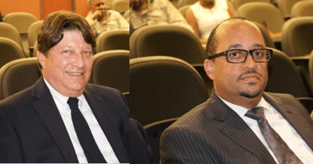 Jonathan Weintraub  and Attorney Michael Sheridan