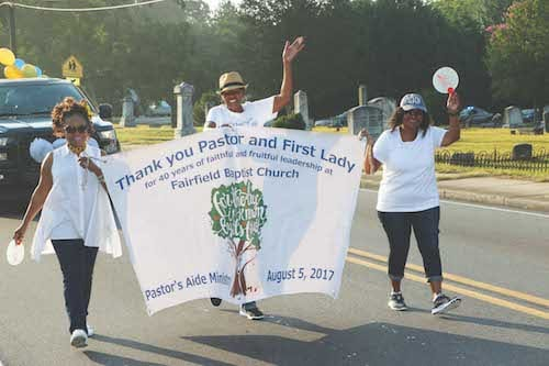 benton retirement parade