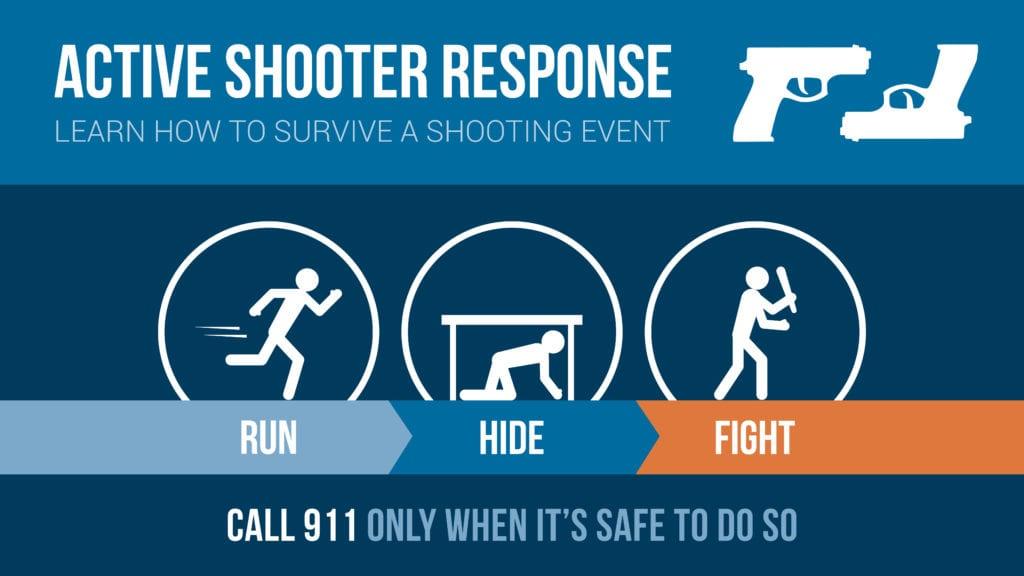 run hide fight active shooter