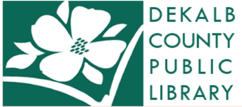 DeKalb library logo