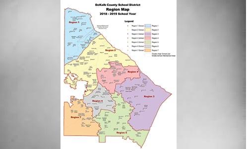 dekalbschoolregionmap