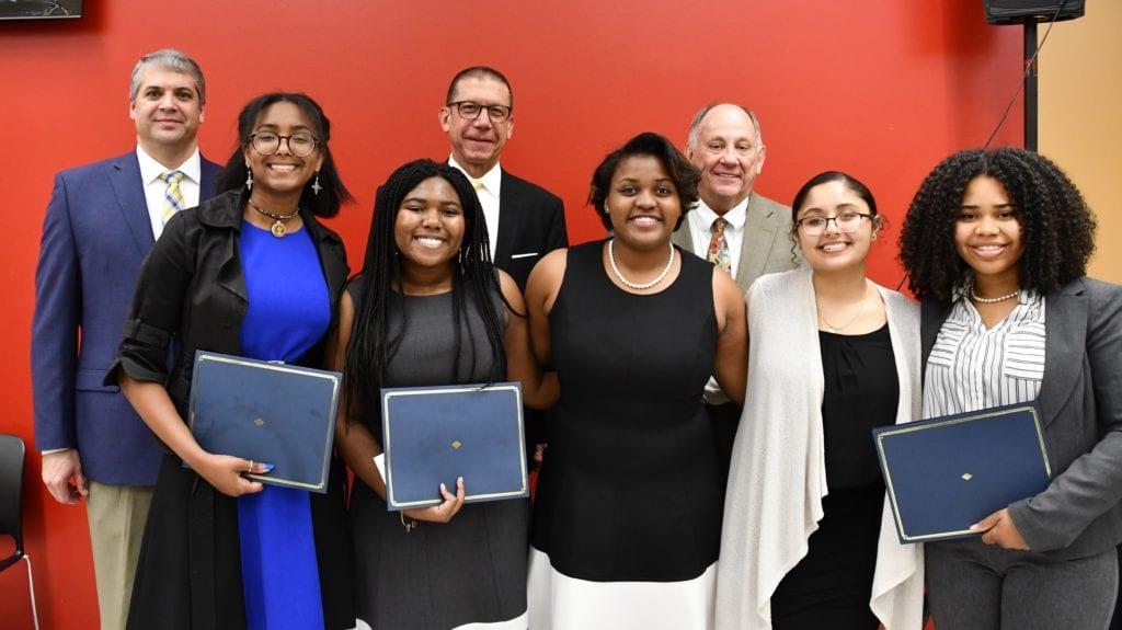 Coalition Winners and Hughey Award Recipient