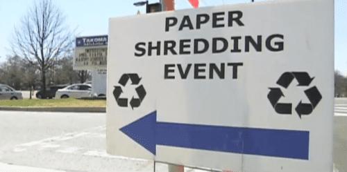 paper-shredding event