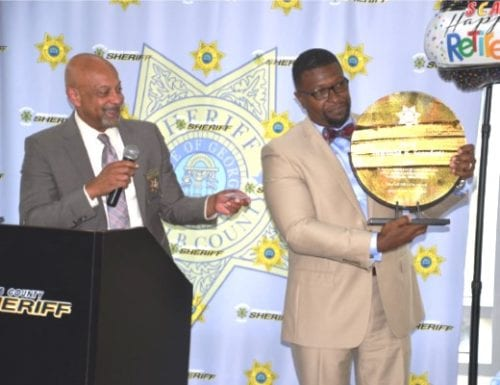 CHIEF DEPUTY SCANDRETT RETIRES