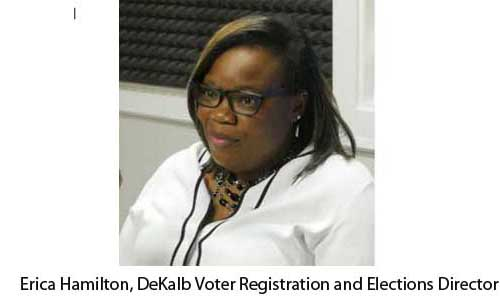 Erica Hamilton, DeKalb Voter Registration and Elections Directo 11