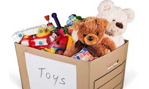 Toy giveaway
